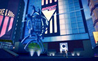Brighton in Saints Row 2 - Ultor sculpture