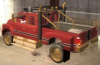 Compensator - Brotherhood variant - rear left in Saints Row 2