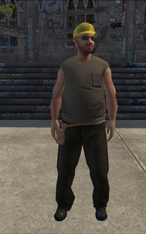 Construction - latino - character model in Saints Row