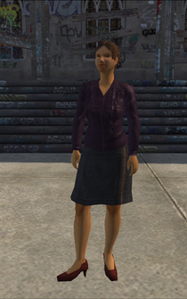 Generic young female 01 - hispanic - character model in Saints Row
