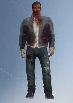 Johnny Gat - zombie - character model in Saints Row IV