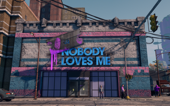 Nobody Loves Me - exterior in Saints Row The Third