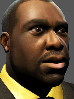 Saints Row character render - Ben King's face