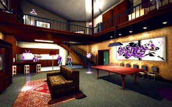 University Loft - Classy - downstairs towards kitchen