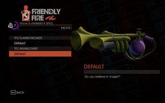 Weapon - Melee - Incinerator - TF2 Rainblower