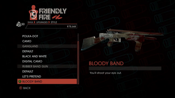Weapon - SMGs - Heavy SMG - Rubber Band Gun - Bloody Band