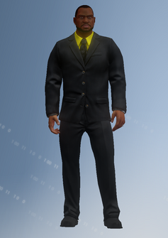 Ben King - Saints Row - character model in Saints Row IV