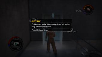 Chop Shop tutorial in Saints Row 2