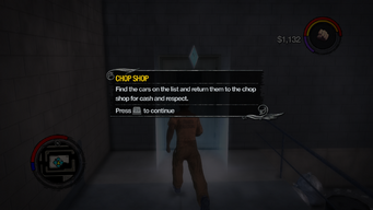 Chop Shop tutorial in Saints Row 2