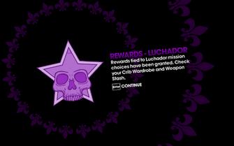 DLC unlock SRTT - Rewards - Luchador