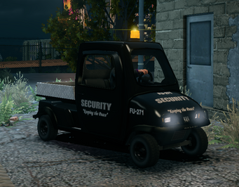 Knoxville - Security variant with lights flashing in Saints Row The Third