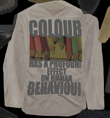 Nobody Loves Me - Colour has a profound effect on human behaviour shirt