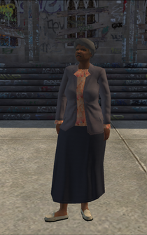OldWoman - black - character model in Saints Row