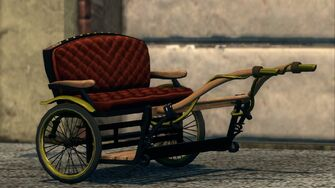 Pony Cart - front right in Saints Row The Third
