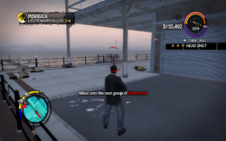Pushback in Saints Row 2 - Move onto the next group of lieutenants objective