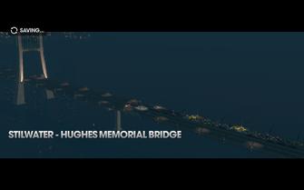Return to Steelport - Hughes Memorial Bridge title