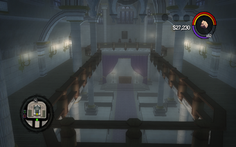 Saints Row Church - upper level in Saints Row 2