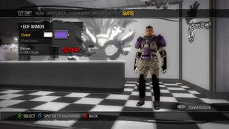 Suits - EDF Armor - recoloured
