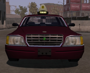 Taxi - front in Saints Row