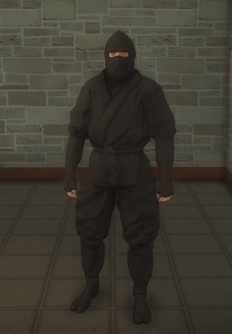 Gang Customization - Ninjas - male lieutenant 2 - white