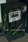 Improvised Weapon - news stand (daily omen)
