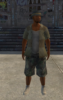 Poor male - black - character model in Saints Row