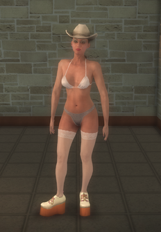 Stripper female - white Casual - character model in Saints Row 2
