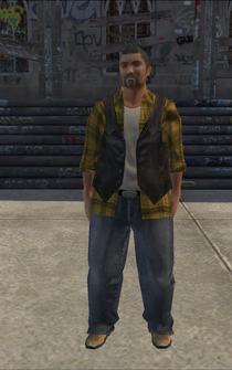 Trucker-01 - asian - character model in Saints Row