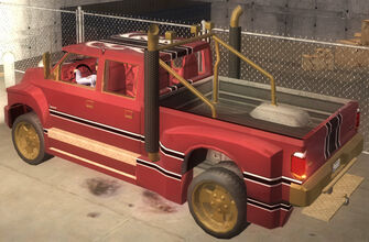 Compensator - Brotherhood variant with hitch - rear left in Saints Row 2