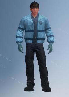 EMT03 - Roger - character model in Saints Row IV