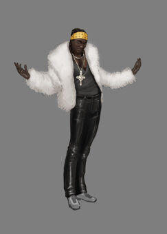 Early VK Gang Member Concept Art