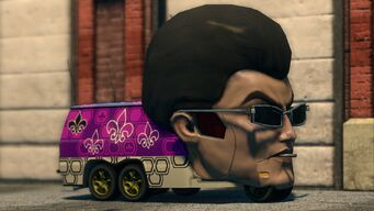 Gat Mobile - front left in Saints Row The Third