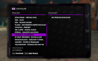 Kabron 104.2 - Saints Row The Third tracklist - bottom