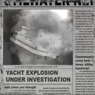 Newsclip yachtexplosion