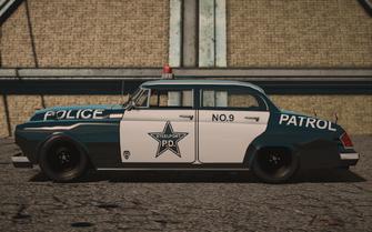 Saints Row IV variants - Gunslinger Police m19 - side