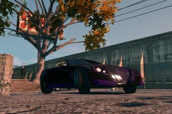Sovereign - front right low in Saints Row The Third