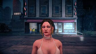 Tanya - face in Saints Row IV