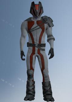 Zin - alien specialist - character model in Saints Row IV