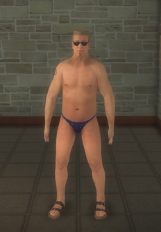 Beach male - white - character model in Saints Row 2