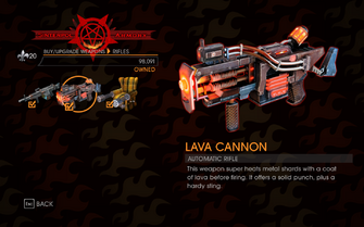 Gat out of Hell - Automatic Rifle (Lava Cannon)