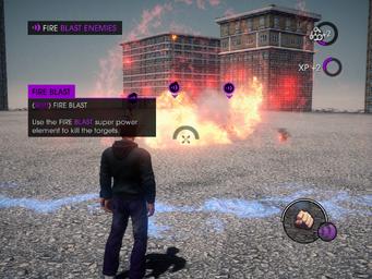 Power Element Training - Fire Blast tutorial