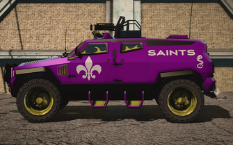 Saints Row IV variants - Saints N-Forcer Average - side