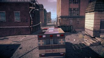 Ambulance - rear in Saints Row IV