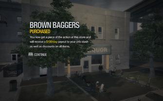 Brown Baggers in Rebadeaux purchased in Saints Row 2