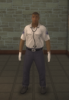 EMT - black male - character model in Saints Row 2