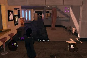 HQ back hallway
