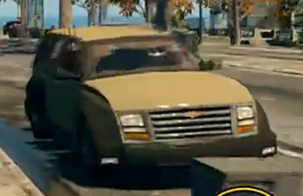 Keystone - front right in Saints Row The Third