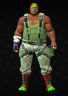 Luchador grunt 4 - Alonzo - character model in Saints Row The Third
