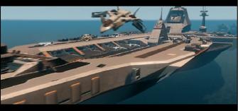 STAG aircraft leaving the Thermopylae during Gang Bang