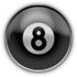 Saints Row 2 clothing logo - 8ball
